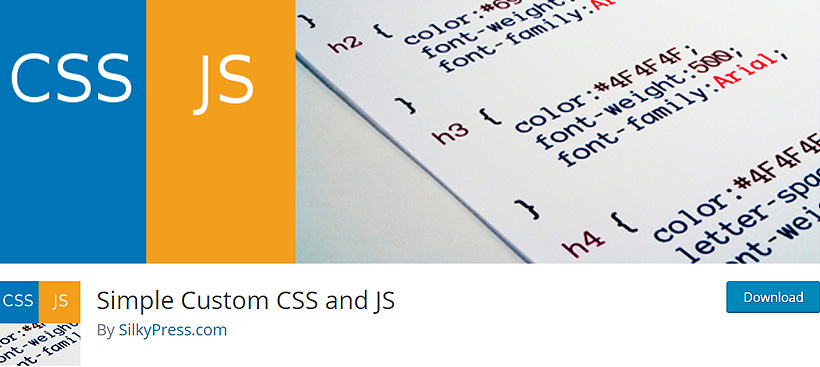 customcss free wordpress CSS plugins