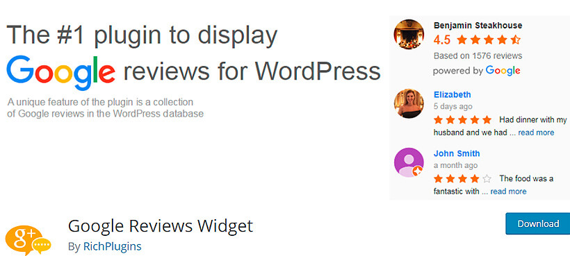 googlereview best wordpress review plugins