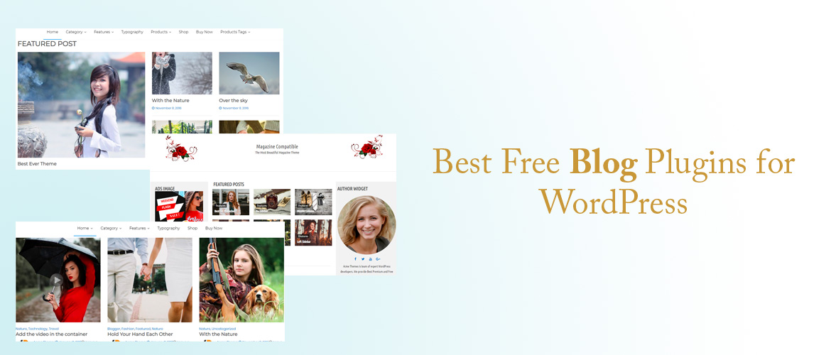 5 + Best Free Blog Plugins for WordPress