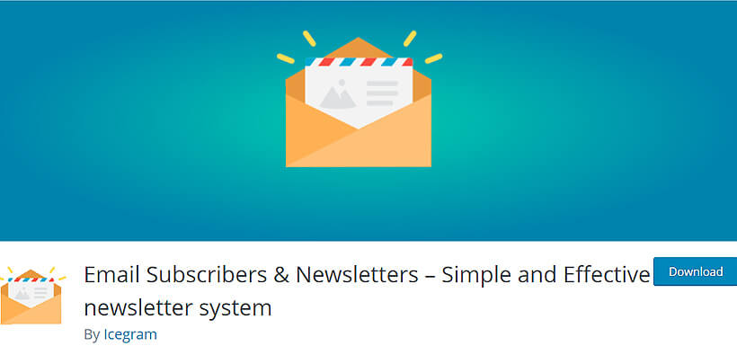 emailsubscriber wordpress newsletter plugins