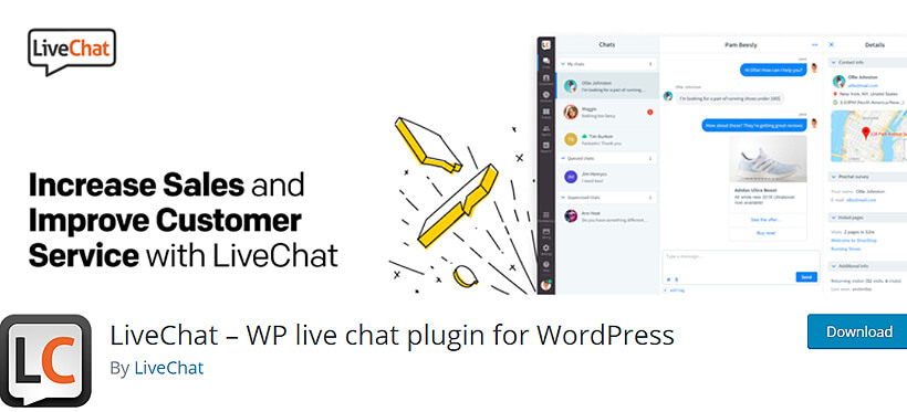 livechat free wordpress live chat plugin