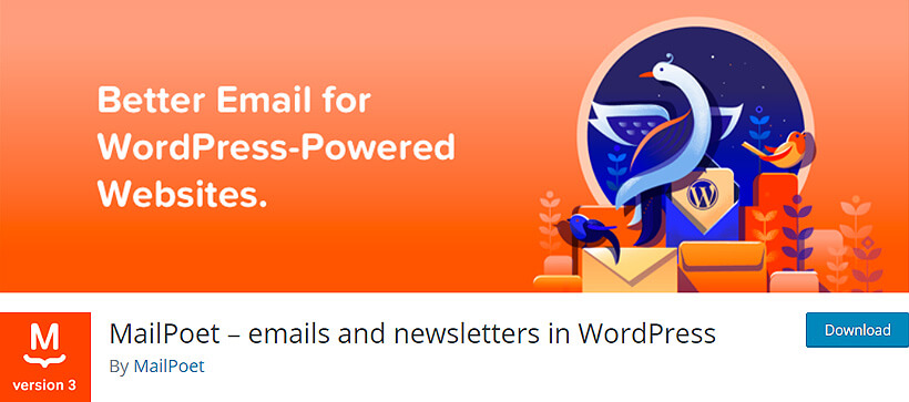 mailpoet wordpress newsletter plugins