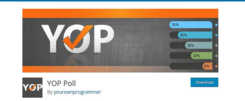 YOP-Poll2 wordpress voting plugins