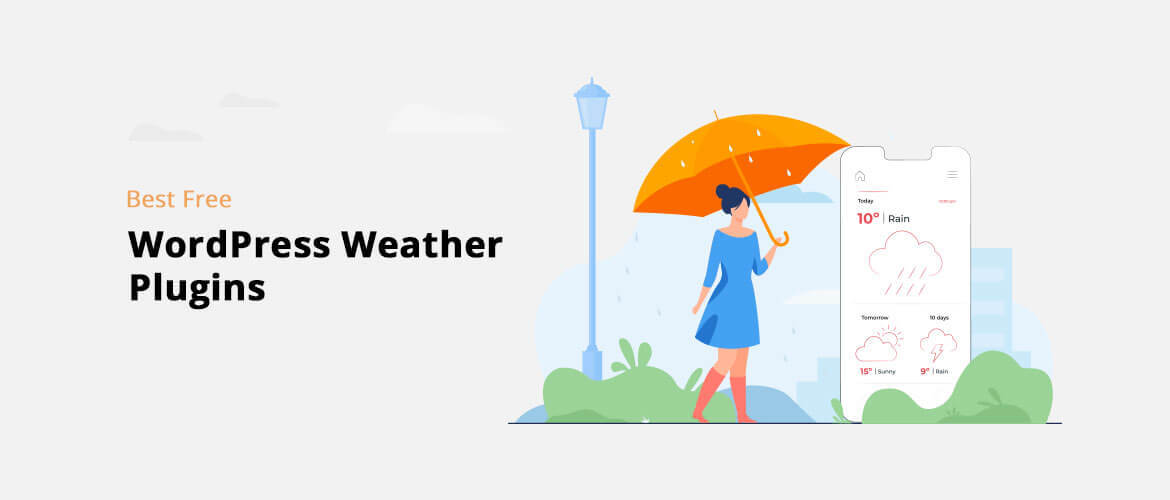 6+ Best Free WordPress Weather Plugins 2020