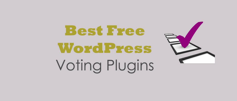 wordpress voting plugins