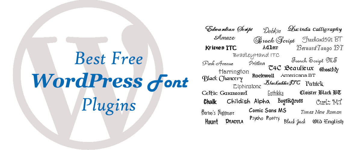 6+ Best Free WordPress Font Plugins 2020