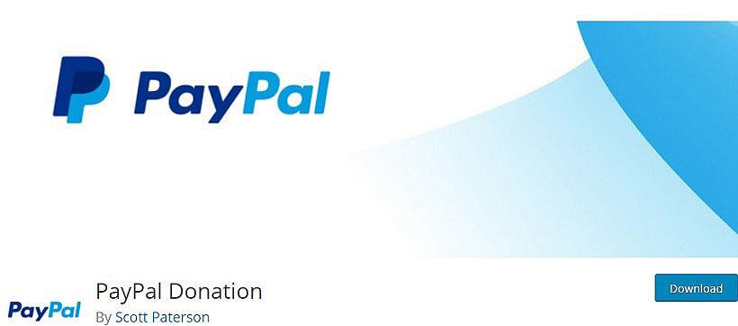 paypal donation wordpress donation plugins