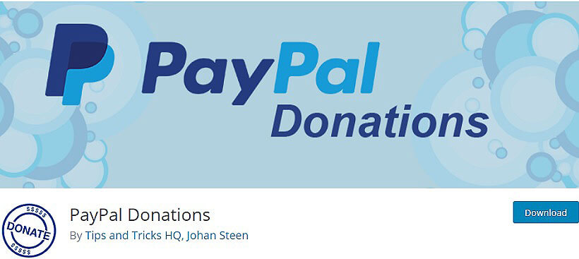 paypal wordpress donation plugins