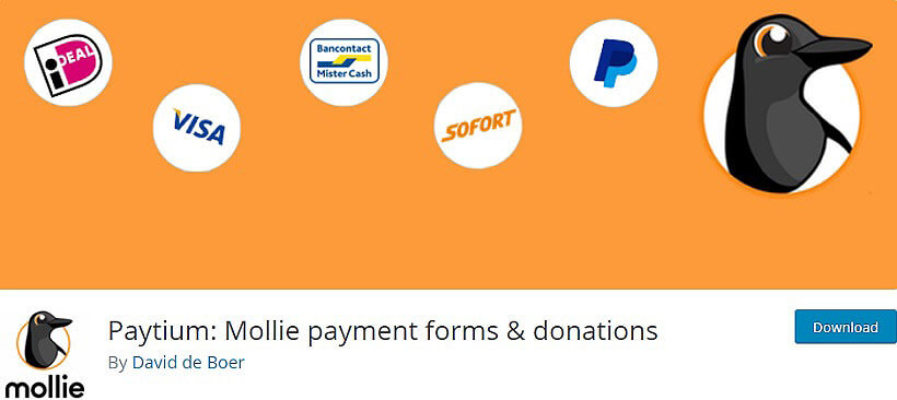paytium wordpress donation plugins