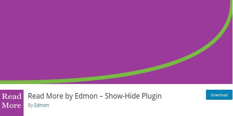 read more edmon wordpress read more plugins