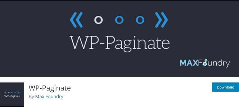 wp-paginate wordpress pagination plugins