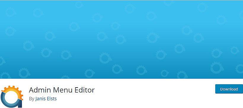 admin menu wordpress dashboard plugins