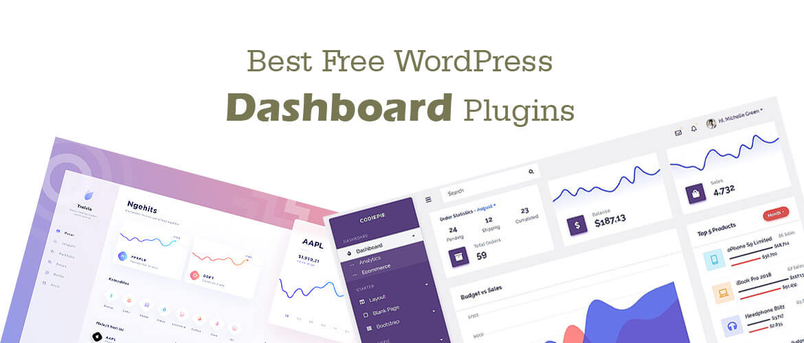 5+ Best WordPress Dashboard Plugins 2020