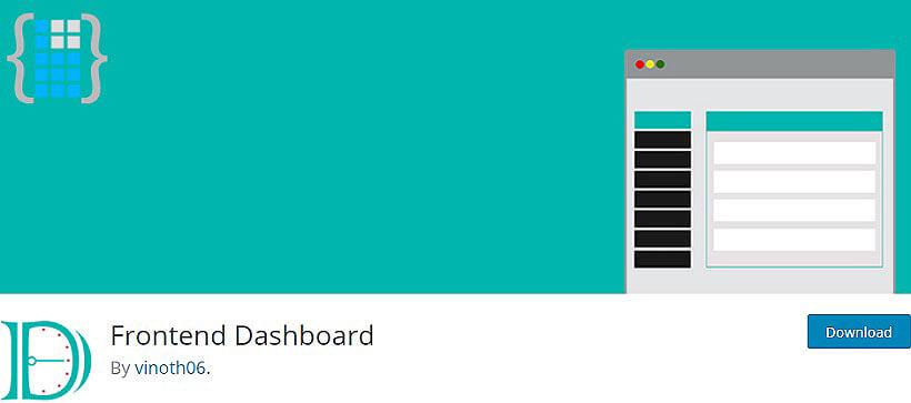 frontend dashboard