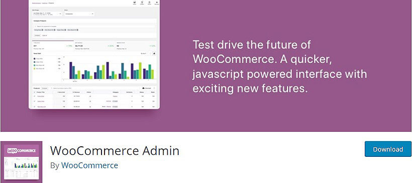 woocommerce admin wordpress dashboard plugins