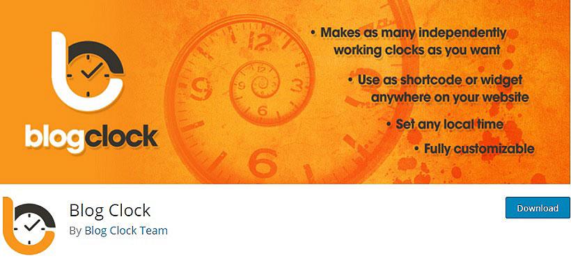 blog clock