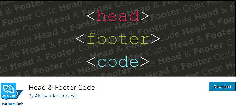 head & footer