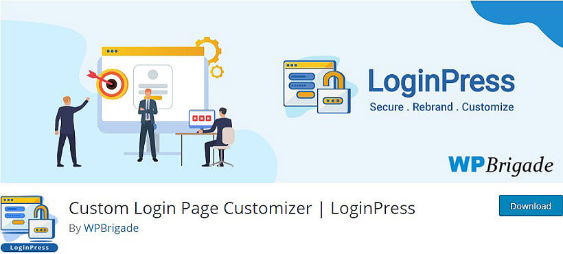 loginPress WordPress Custom Login Plugins