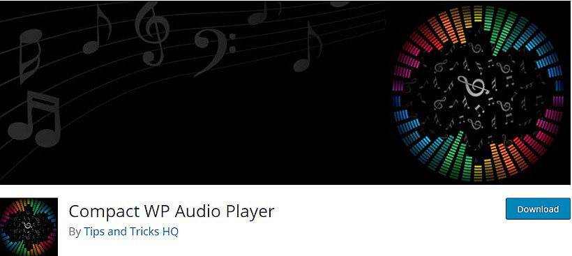 compact wp audio