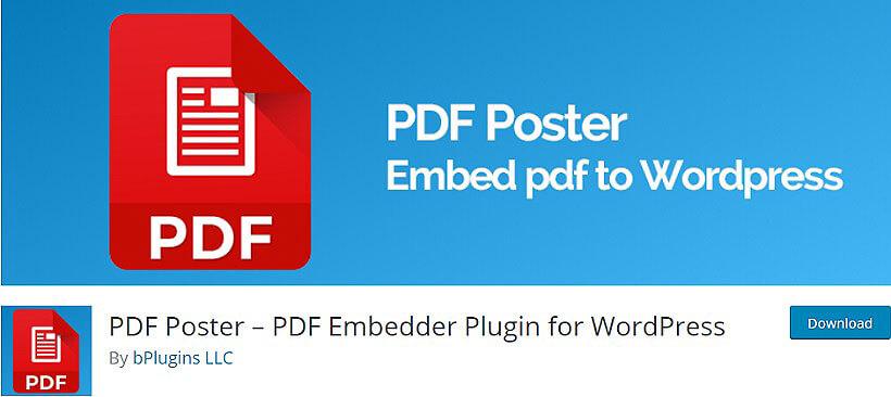 pdf poster