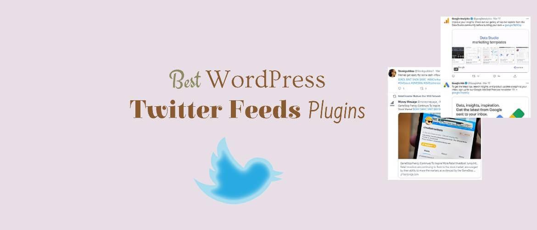 Best WordPress Twitter Feeds Plugins