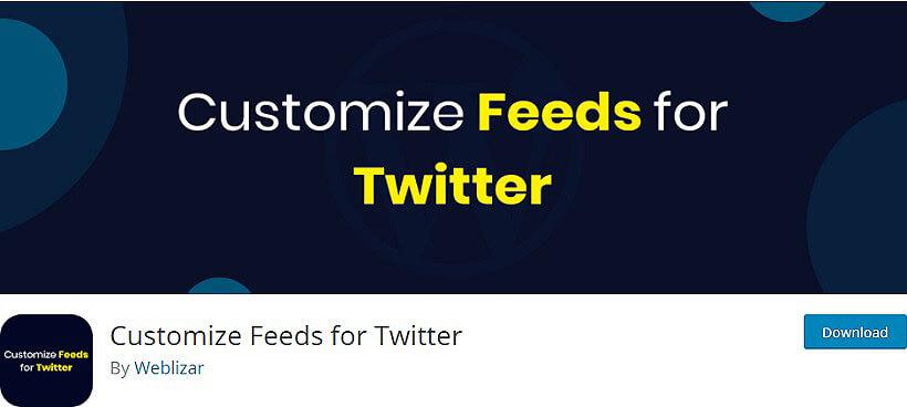 customize feeds