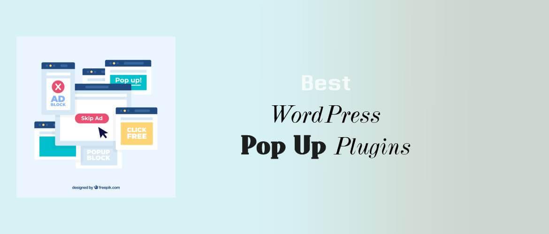 5 + Best WordPress Pop Up Plugins 2021