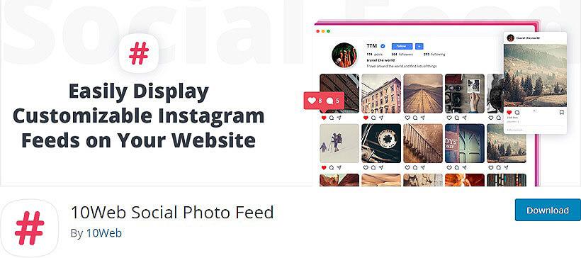 10 web social photo wordpress instagram feeds plugins