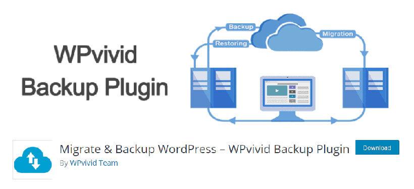 Migrate Backup WordPress