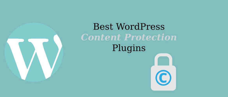 5 + Best WordPress Content Protection Plugins 2021