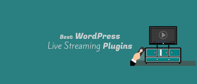 wordpress live streaming plugins