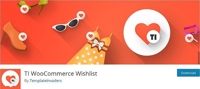 TI WooCommerce Wishlist woocommerce wishlist plugins