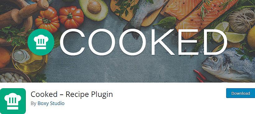 cooked recipe plugin WordPress Recipe Plugins