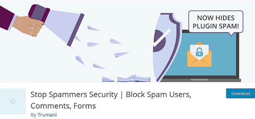 stop spammers security