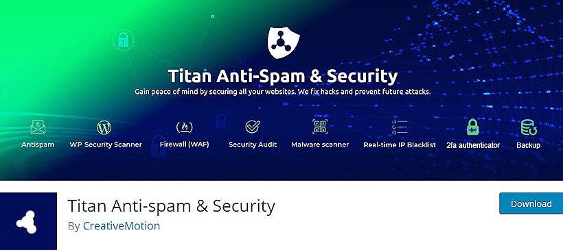 titan anti spam