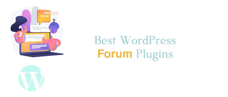 5 + Best WordPress Forum Plugins 2021